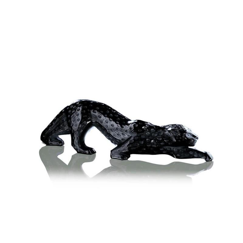 Sculpture Panthère Zeila Noire Grand Modèle