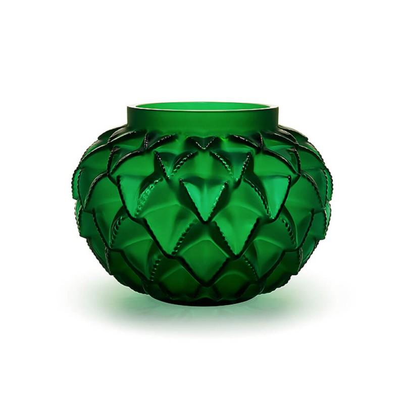 Vase Languedoc Vert Petit Modèle
