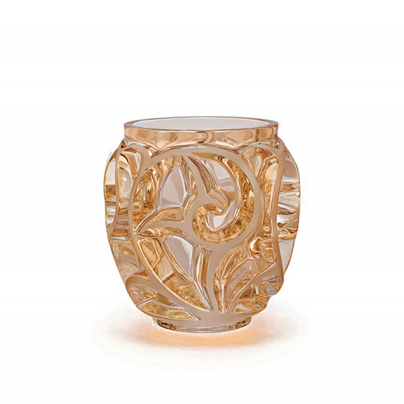 Tourbillons Vase Small Size Gold Luster