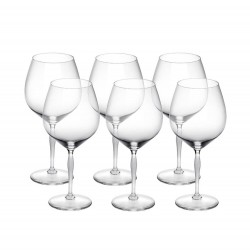 100 Points Burgundy Glass...