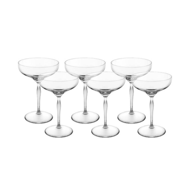 100 Points Champagne Coupe Set of 6