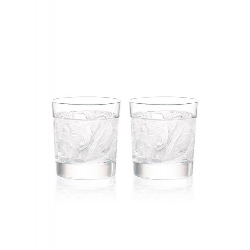 Set of 2 Owl Whisky Tumblers
