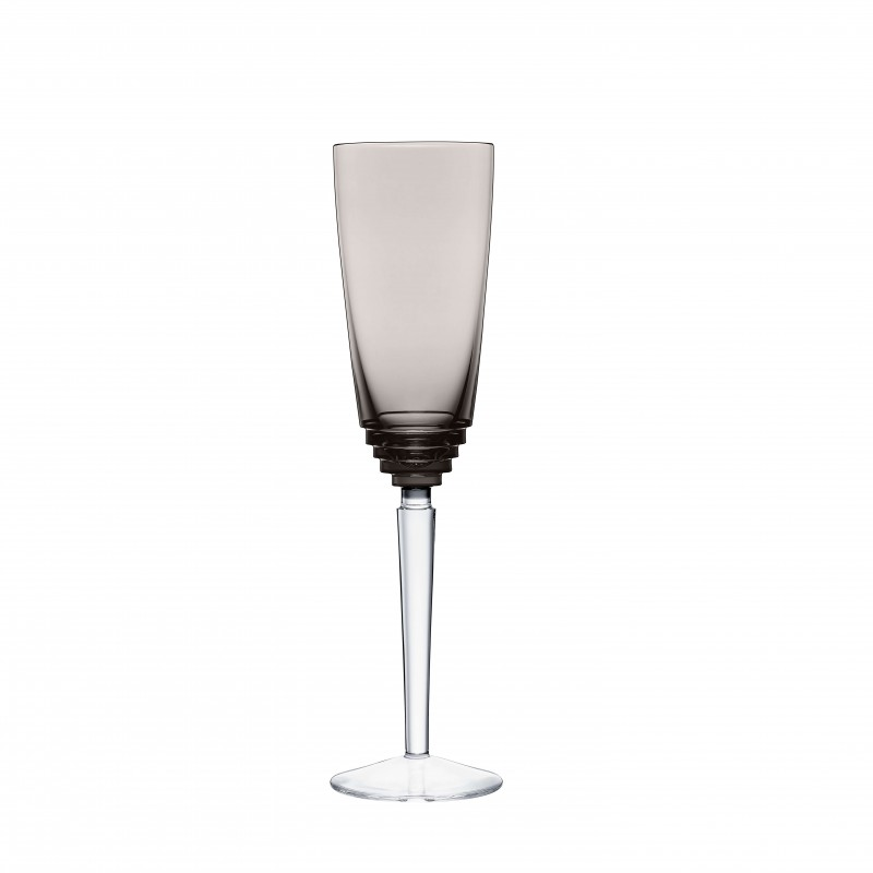 Oxymore Champagne Flute Flanel Grey