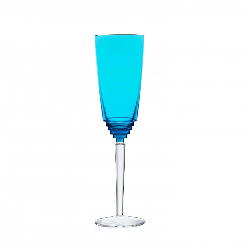 Oxymore Champagne Flute Sky Blue