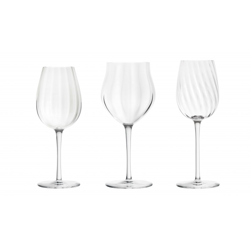 Twist 1586 Set of 3 Glasses