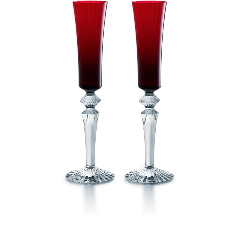 Mille Nuits Flutissimo Red - Set of 2