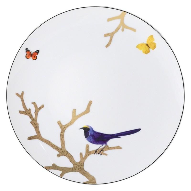 Aux Oiseaux Dinner Plate