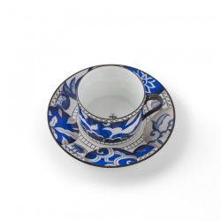 Shanghai Tea and Cup Saucer