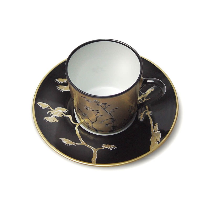 Vieux Kyoto Coffee and cup saucer