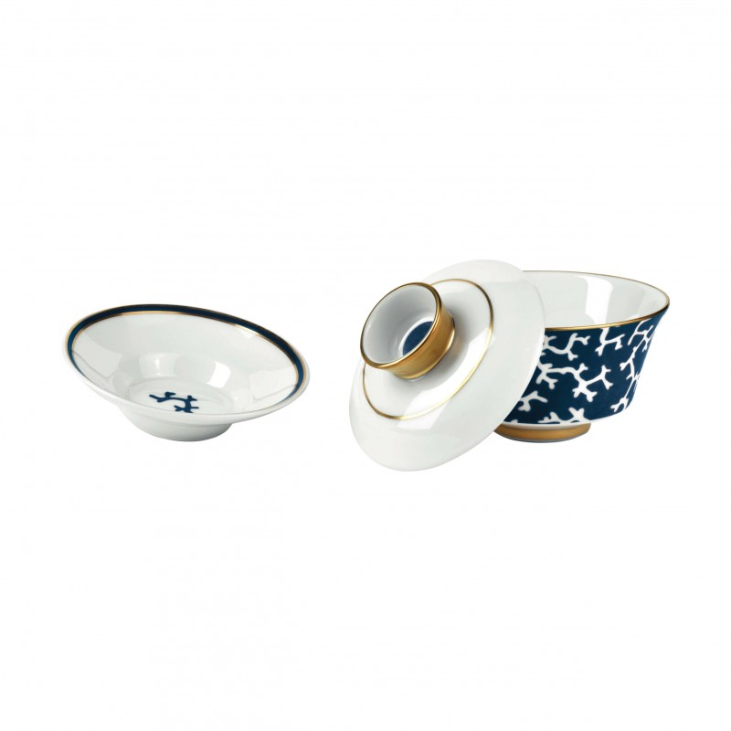 Cristobal Marine Couvercle Chinese Tea Cup