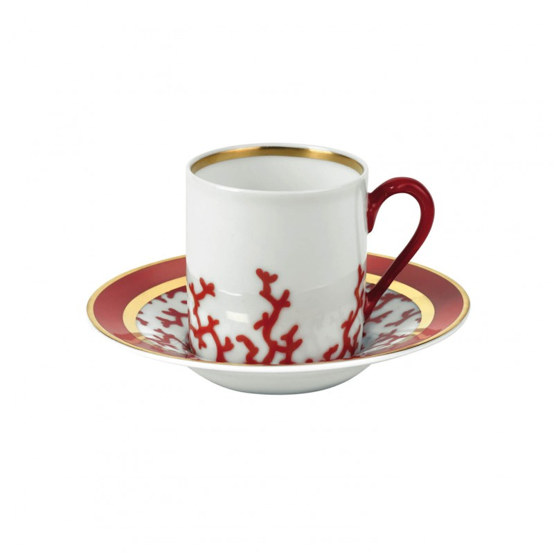 Cristobal Rouge Coffee Saucer