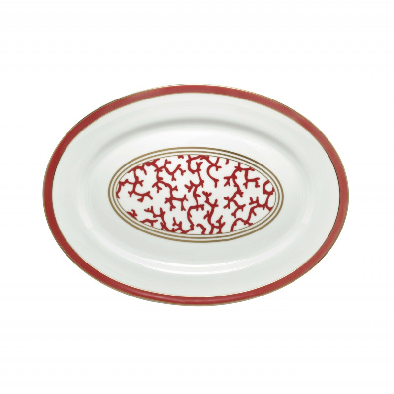 Cristobal Rouge Oval Platter