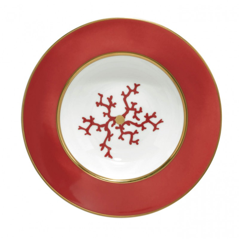 Cristobal Rouge Rim Plate Deep