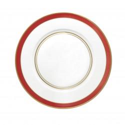 Cristobal Rouge Rim Plate Flat