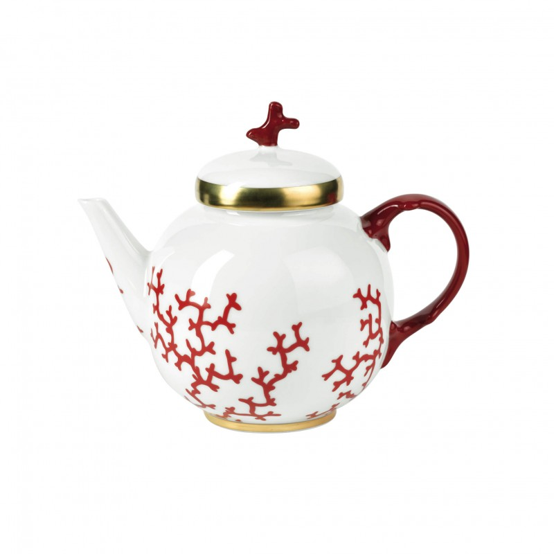 Cristobal Rouge Tea Pot