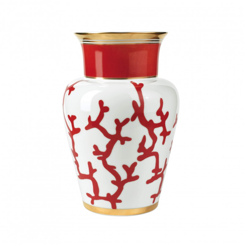 Cristobal Rouge Vase