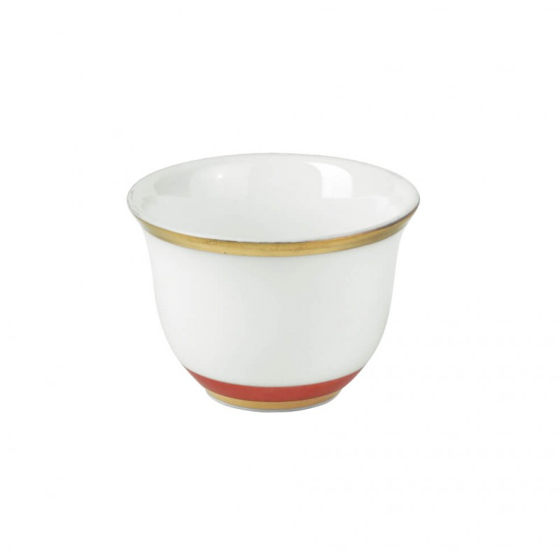 Cristobal Rouge Zarf or Sake Cup