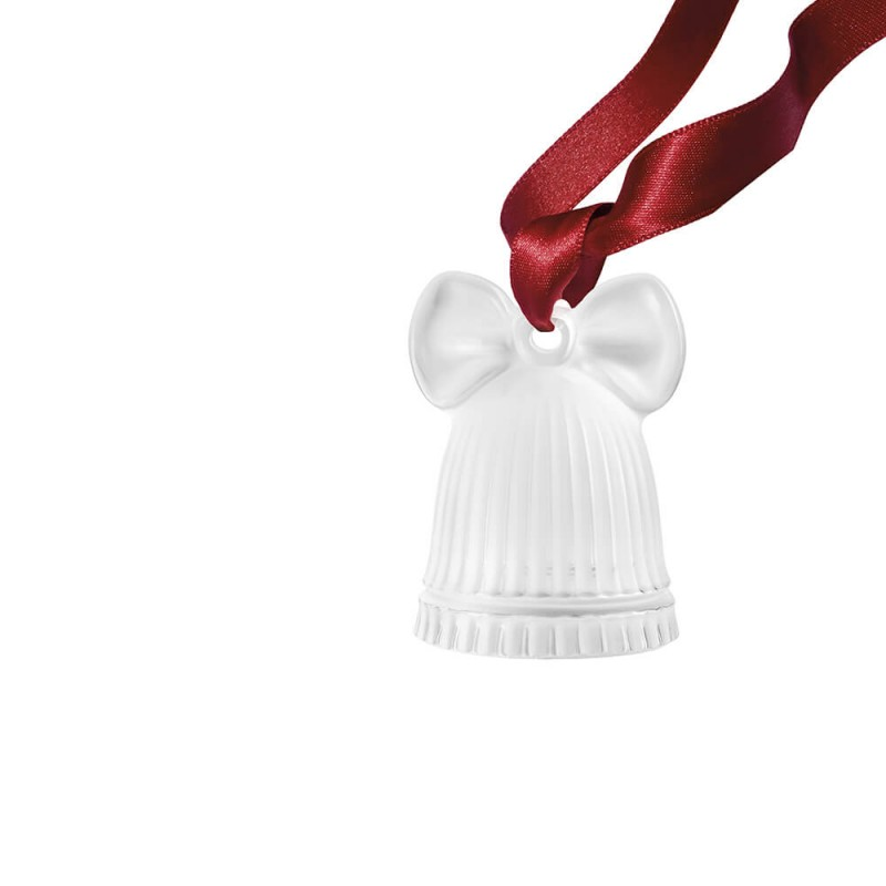 Bell Christmas Decoration Clear