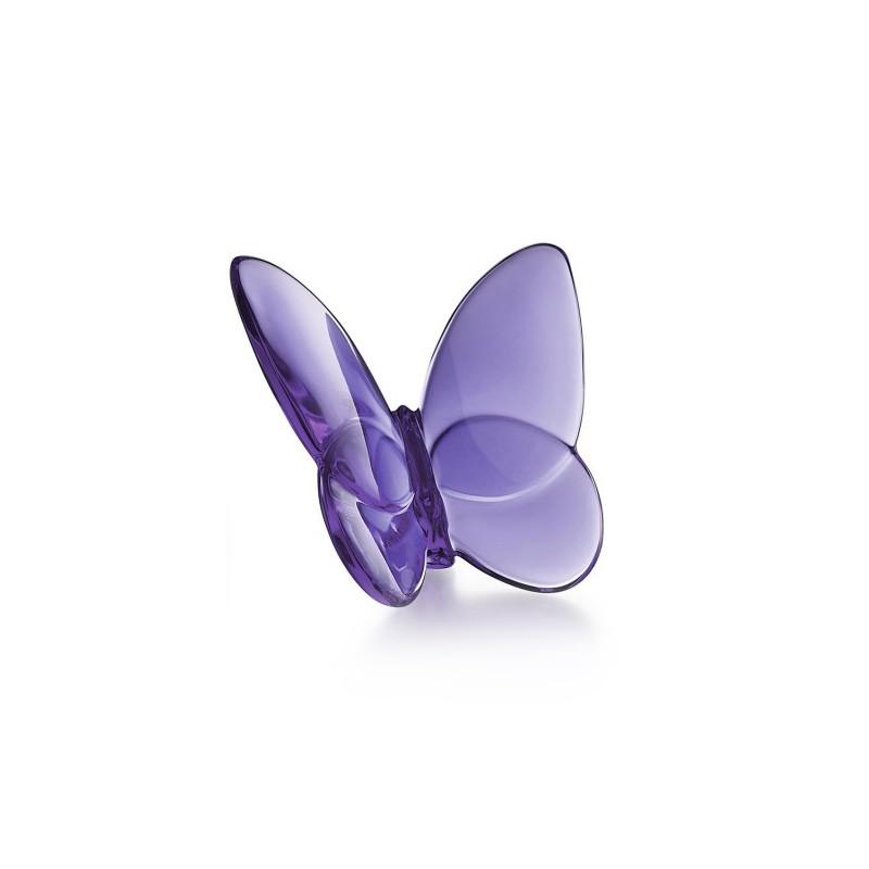 Porte-Bonheur Gilded Butterfly Lucky Purple