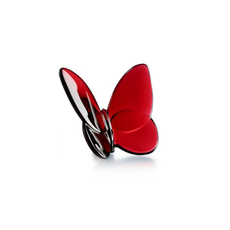 Porte-Bonheur Gilded Butterfly Lucky Red