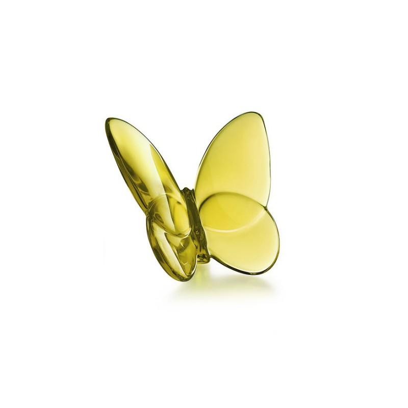 Porte-Bonheur Gilded Butterfly Lucky Amber