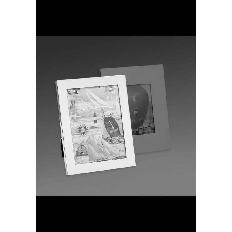 Cadre à Photo Brilliant en Métal Argenté 13x18 cm