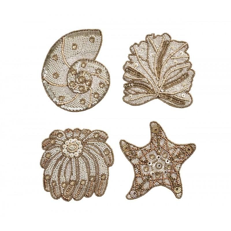 Sea Odyssey Set Of 4 Coasters