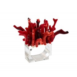 Amalfi Napkin Ring Red