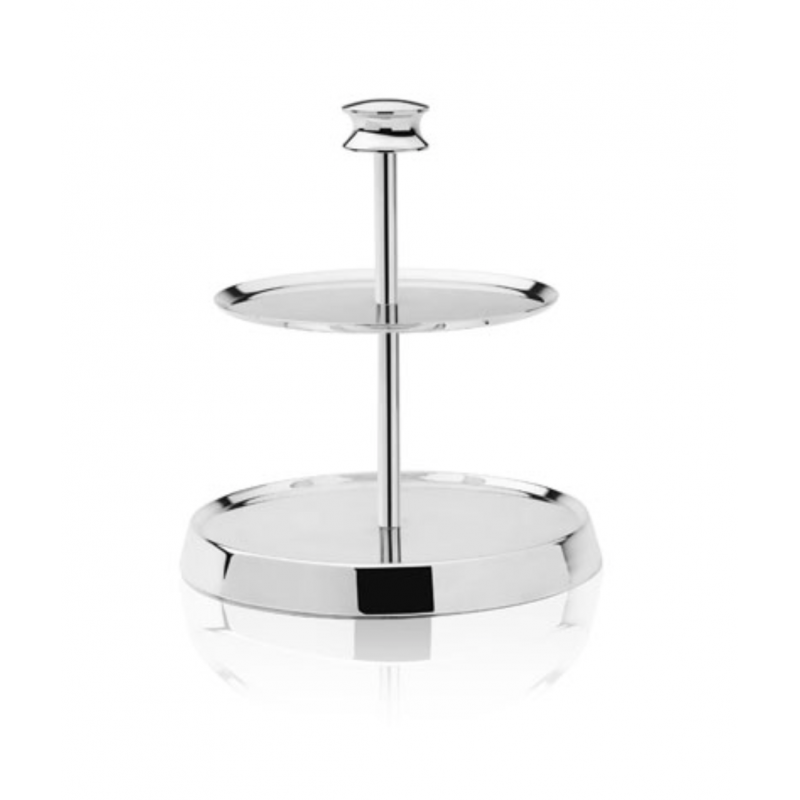 Argent Gourmand Two-Tiers Stand