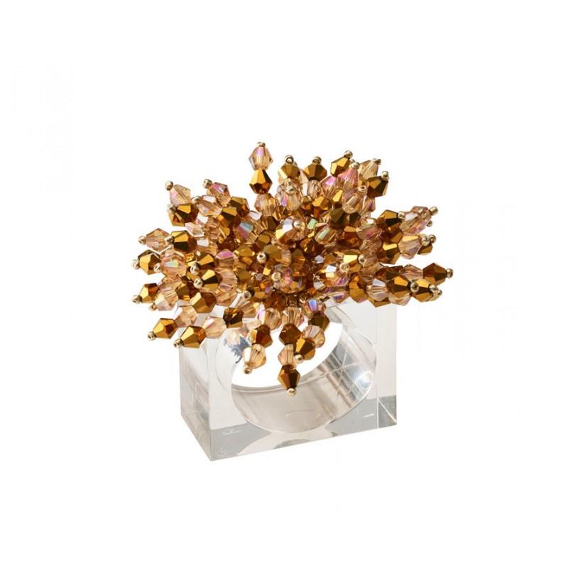 Brilliant Napkin Ring Gold