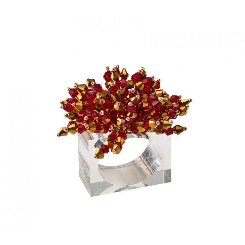 Brilliant Napkin Ring Red