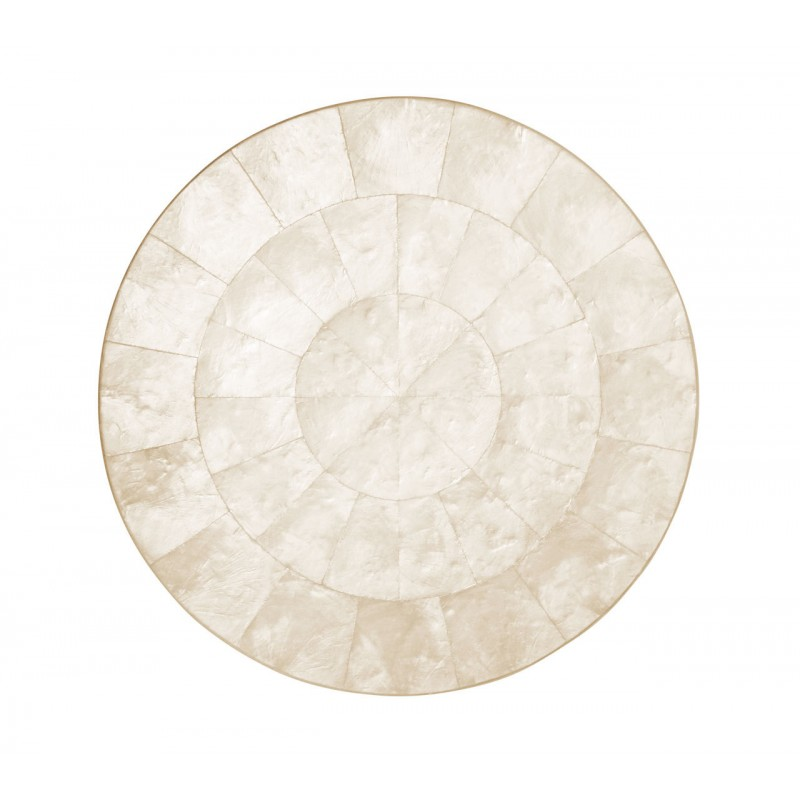 Capiz Round Placemat Natural