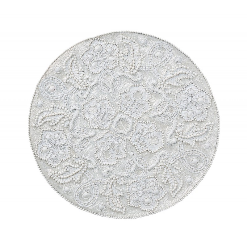 Tapestry Placemat White