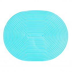 Oval Lacquer Placemat