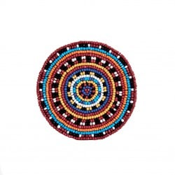 Tribal Beaded Coasters