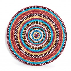 Tribal Beaded Placemat