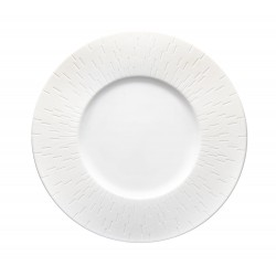 Infini Small Deep Plate White