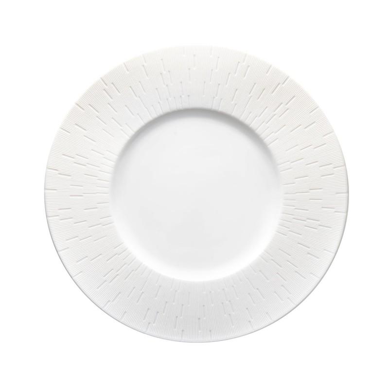 Infini Small Deep Plate White