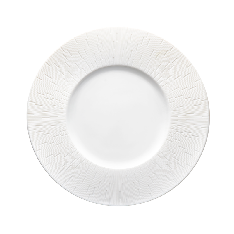 Infini Large Deep Plate Platinum