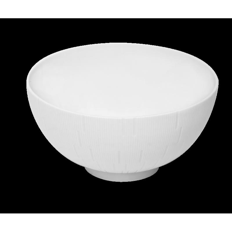 Infini Large Salad Bowl White