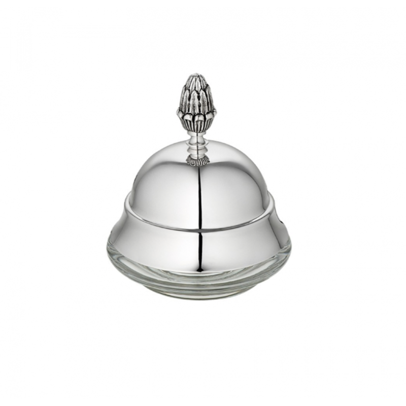 Malmaison Silver-Plated Personal Butter Dish