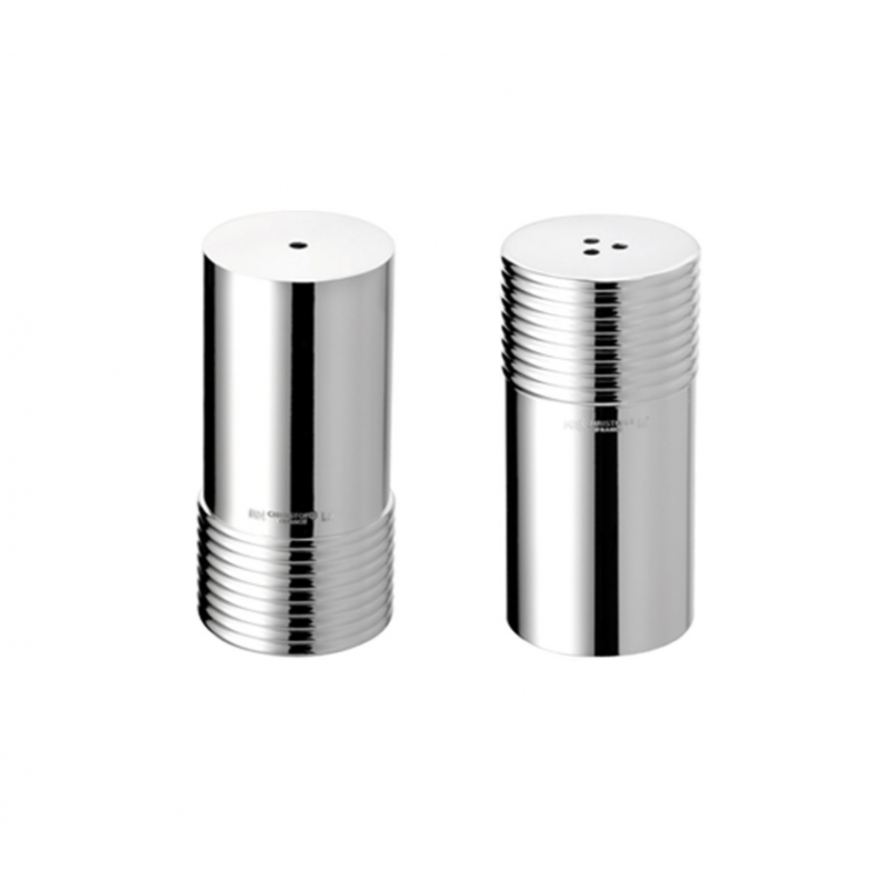 K+T Silver-Plated Salt and Pepper Shakers