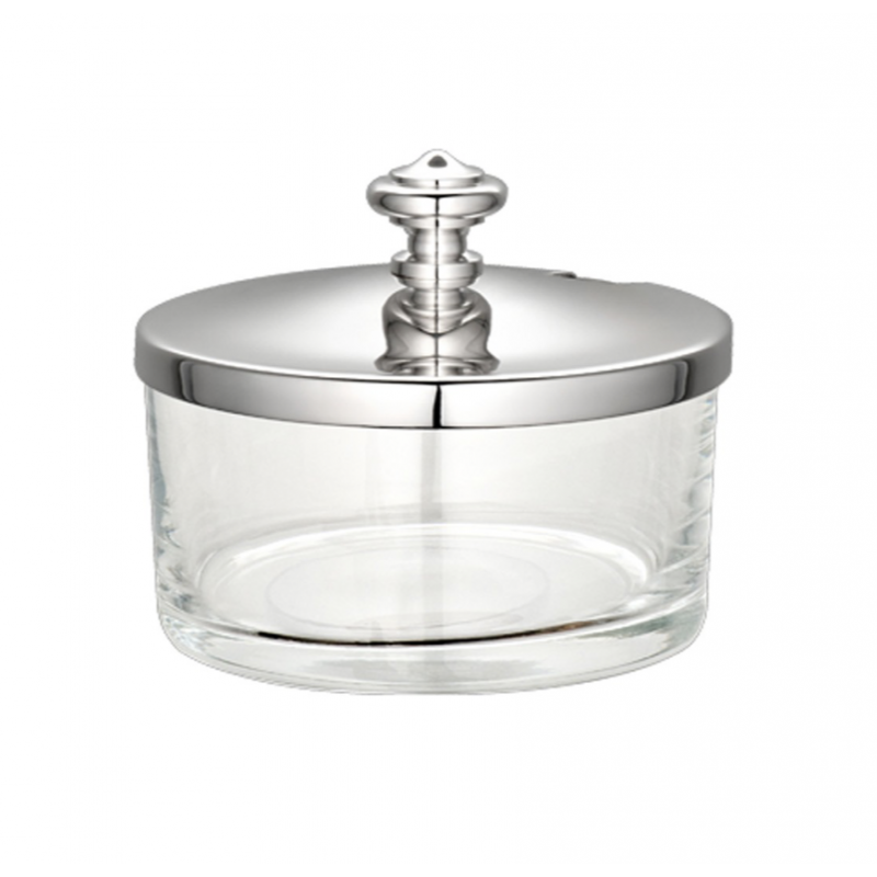 Albi Silver-Plated Lidded Cheese/Condiment Dish