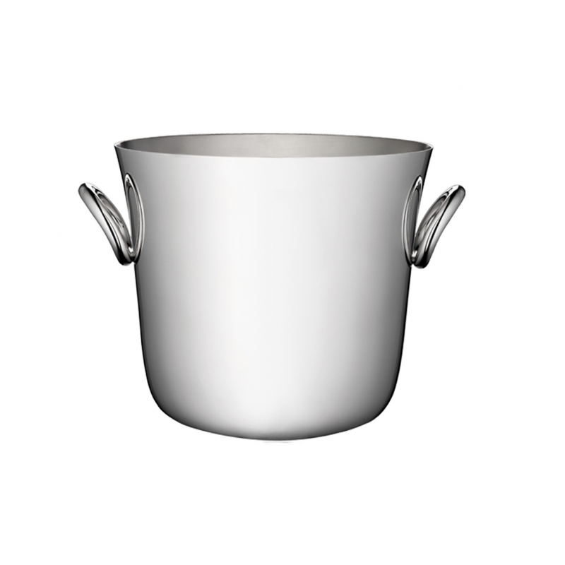 Vertigo Silver-Plated Ice Bucket