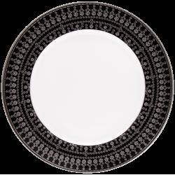 Tiara Dessert Plate Black...