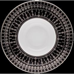 Tiara Deep Plate Black...