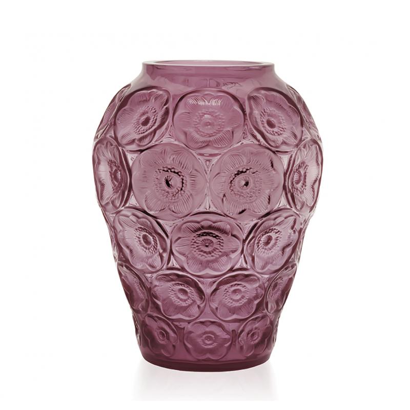 Anemones Vase Fuchsia Medium Size