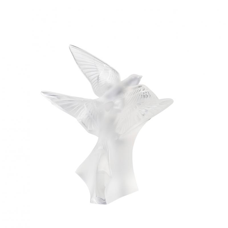 Sculpture 2 Hirondelles Petit Modèle