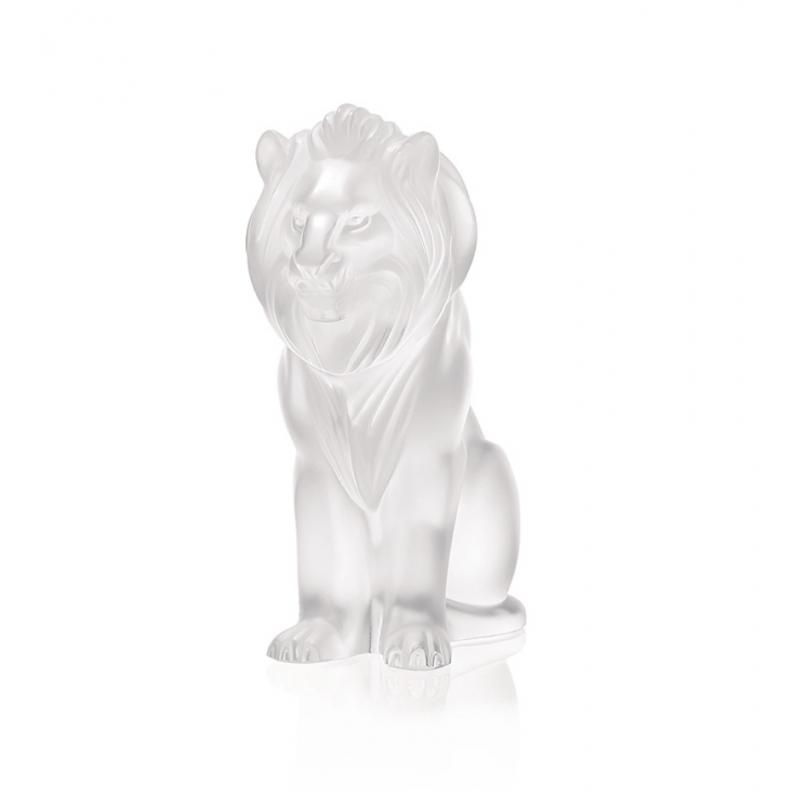 Sculpture Lion Bamara Clair