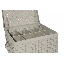 Shoe trunk - 8 pairs Ivory